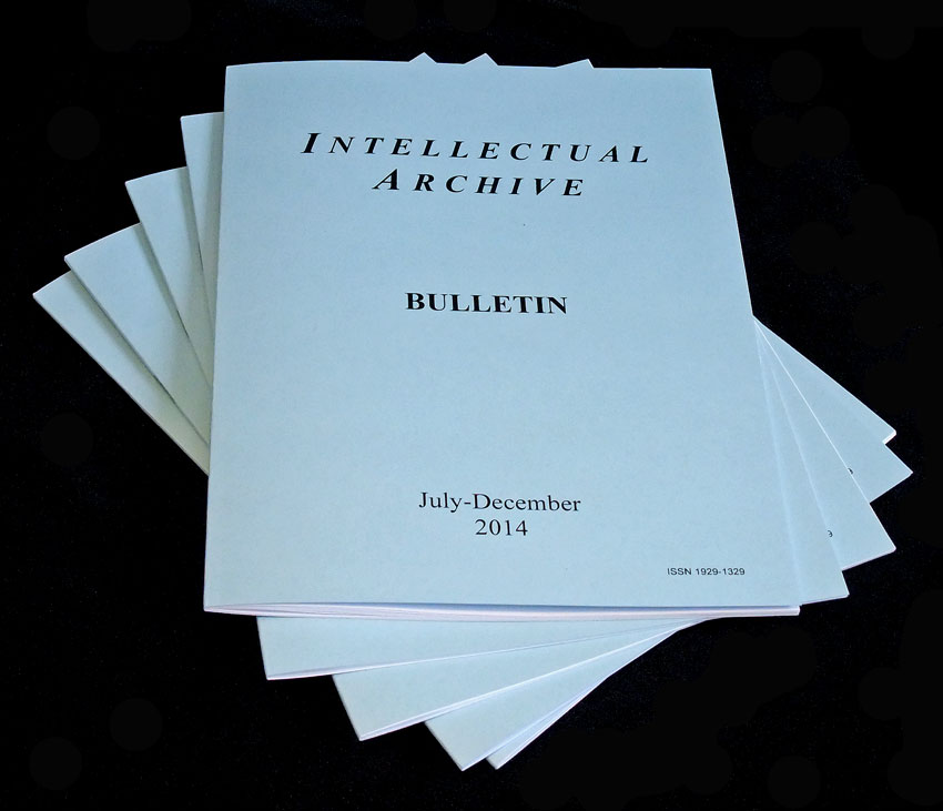 IntellectualArchive Bulletin